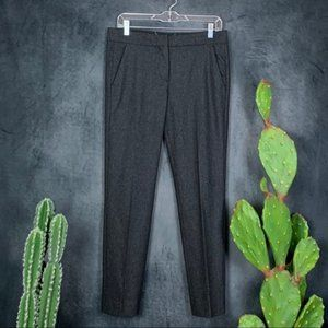 Max Mara Charcoal Wool Blend Pants Trousers 8
